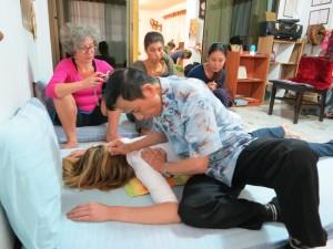 Ajarn Sinchai Thaimassage by Birgit Strauch Shiatsu Massage ThetaHealing